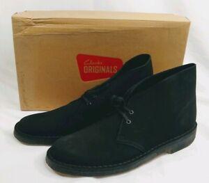 Clarks Originals Desert Boot Navy Suede Men/'s Shoes 62124
