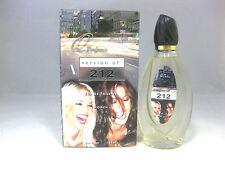 Q Perfumes version of 212 WOMEN by Carolina Herrera Women's Perfume 3.4 oz NIB