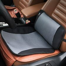 Massage Vibration Lumbar Pillow Back Support Car Seat Muscles Cushion Portable