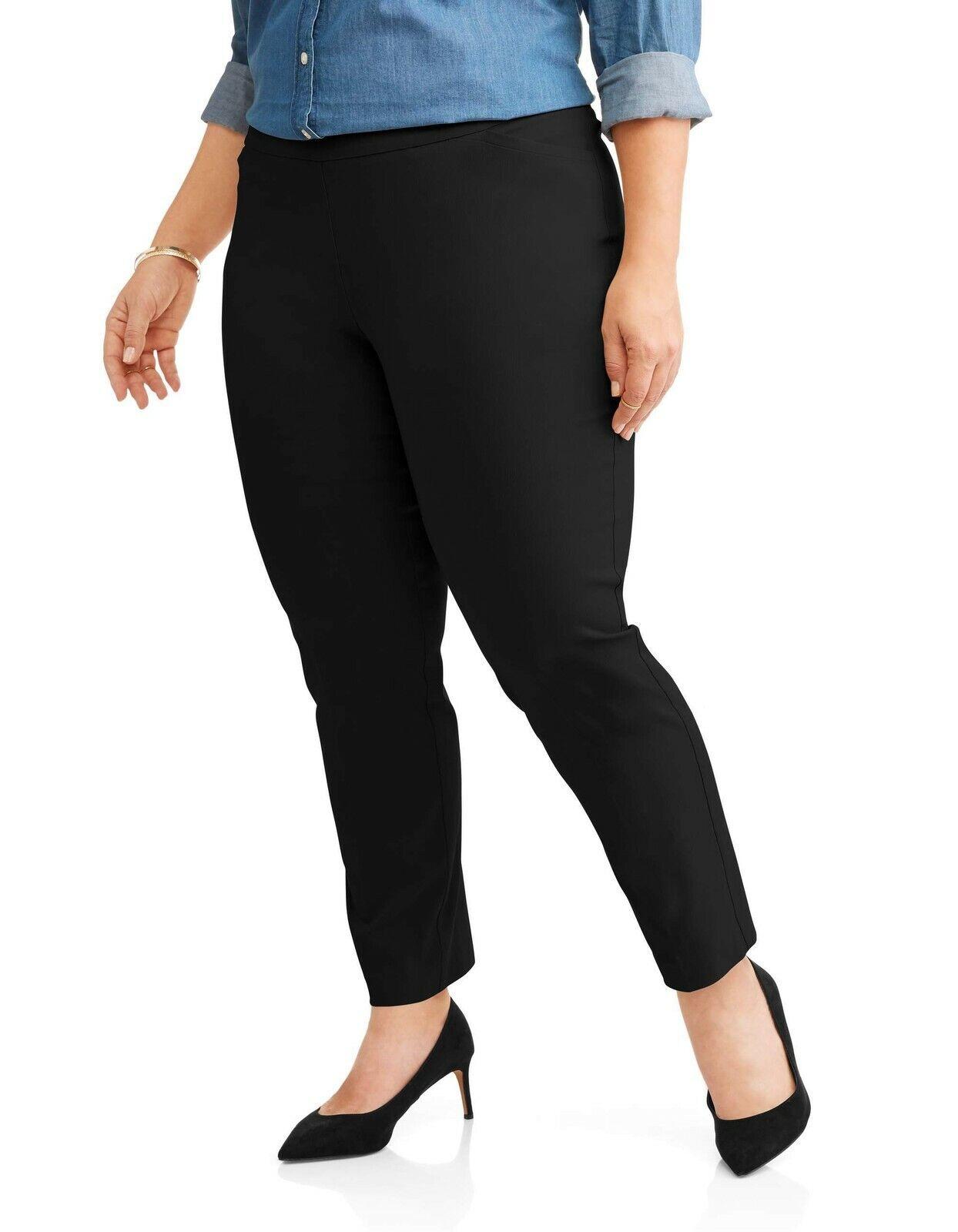 NWT Womens St John/'s Bay Straight Leg Velour Pants Size 2X