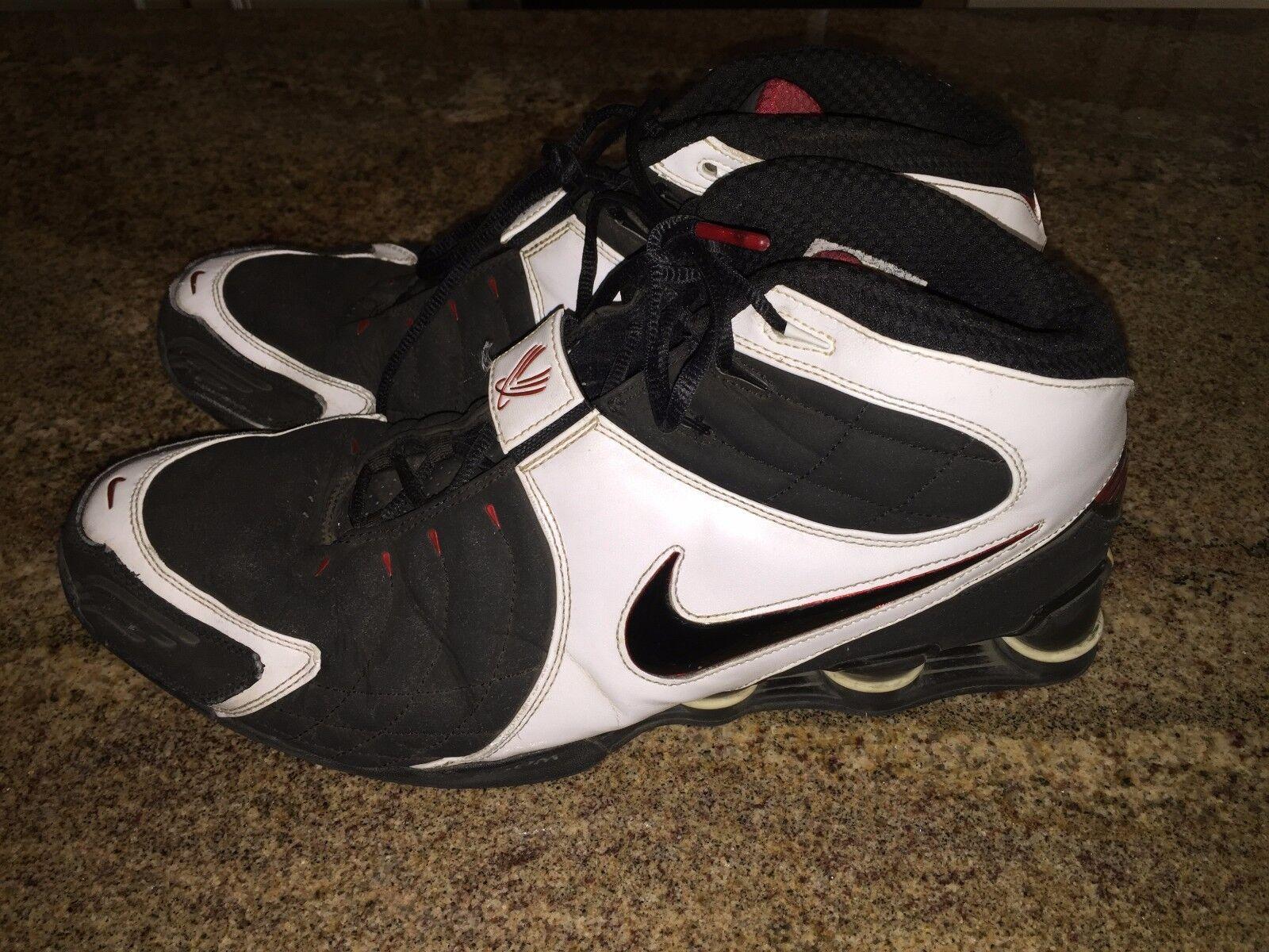 Price reduction Nike Men Shox VC V Vince Carter Basketball Shoes 312764-001 Seasonal clearance sale