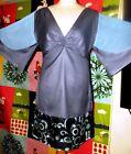 ANTIK BATIK ROBE DRESS MANCHES PAPILLON SOIREE TM OU 40/42