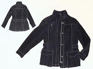 classic fit 7f0d7 6a71e Details zu schicke sportliche Damenjacke Sommerjacke Jacke Wetterjacke Gr.  40 schwarz