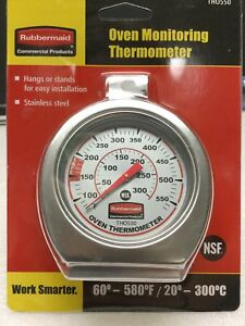 Rubbermaid-Oven-Thermometer-Cooking-Temperature-Monitor-FGTH0550-Stainless