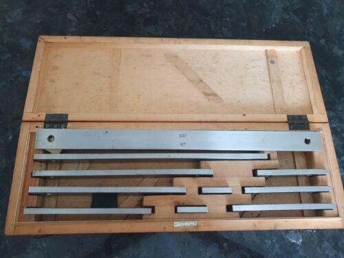 Endmass Satz USSR! Precision Metric Gauge Block 50-500mm Class-1 Top Grade