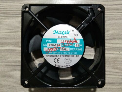 1PC MAXAIR Fan BT220 12038B2HL 220V 12CM