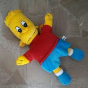 Peluche Pupazzo Bart Simpson The Simpsons 34cm Plush Giocattolo 90s Remise En Ligne