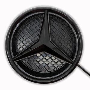 Twist Car Led Front Logo Emblem Grille Light For Benz E C CLA Illuminated