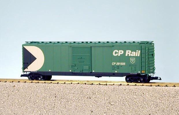 USA Trains G Scale 50 Ft Single Door Box Car R19318A CP Rail - Green
