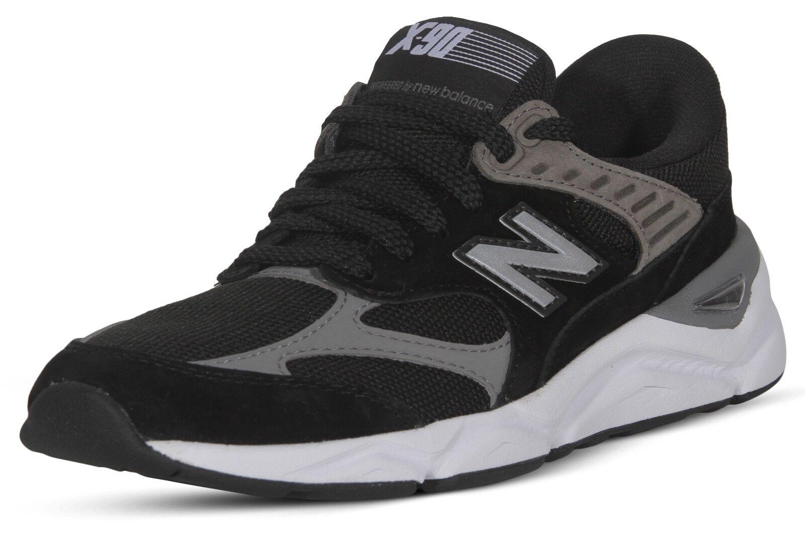 n ° 1 en línea New balance X90 clásico para mujer zapatos de entrenamiento tenis tenis tenis de correr WSX90RLB Negro  caliente