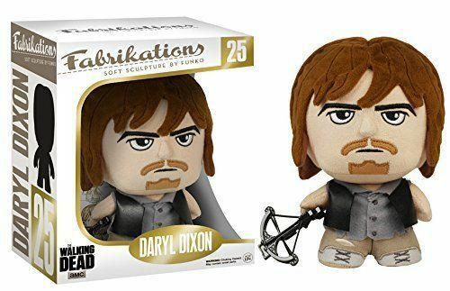 Fabrikations the walking dead daryl dixon 6 soft plush figure FUNKO