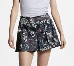 Nike-AO0370-Flex-75-Floral-Tennis-Skirt-Pleated-Skort-M