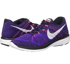 release date c726a 8aedd item 3 Nike Flyknit Lunar 3 Running Shoe Purple Black Concord 698181 014  Mens Size 11 -Nike Flyknit Lunar 3 Running Shoe Purple Black Concord 698181  014 ...