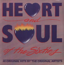 Various Artists, Heart & Soul of the 60's - 40 Tracks [New Vinyl]
