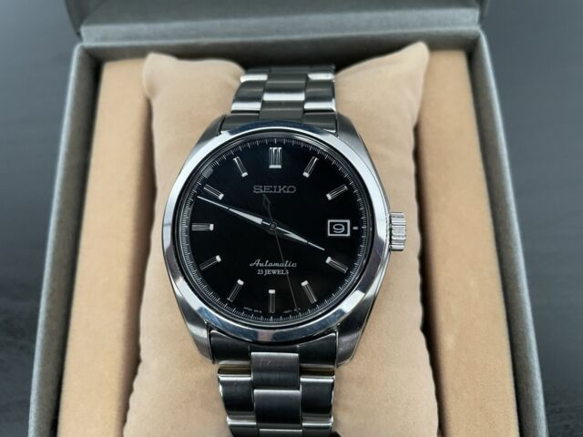 Seiko Men's Black Watch - SARB033