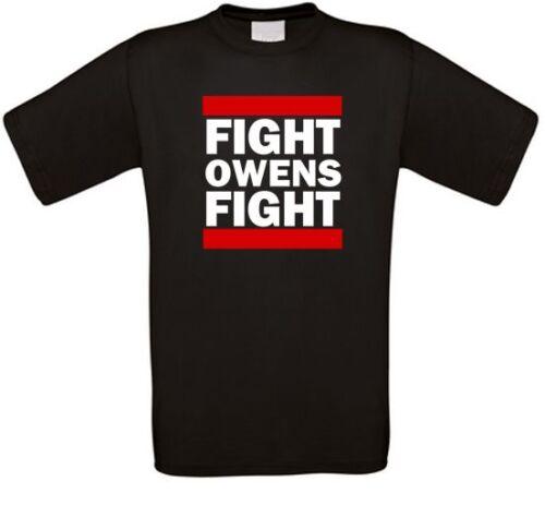 Fight Owens Fight Wrestling Fanmade T-Shirt alle Größen NEU