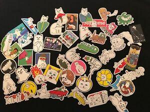 50-Supreme-RIPNDIP-Skateboard-Vintage-Vinyl-Sticker-Laptop-Luggage-Car-Decals