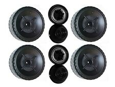 Power Wheels J4390 Red Ford Mustang Replacement Left & Right Wheels- 4 Pack