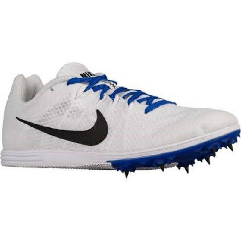 New shoes for men and women, limited time discount NIKE MEN'S ZOOM RIVAL S WHITE/BLACK-RACER BLUE CLEATS SIZE 12 NEW