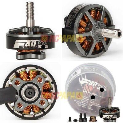 T-Motor F40 Pro II 1600//2150//2600KV FPV Quad Race Brushless Motor 4pc 1PC