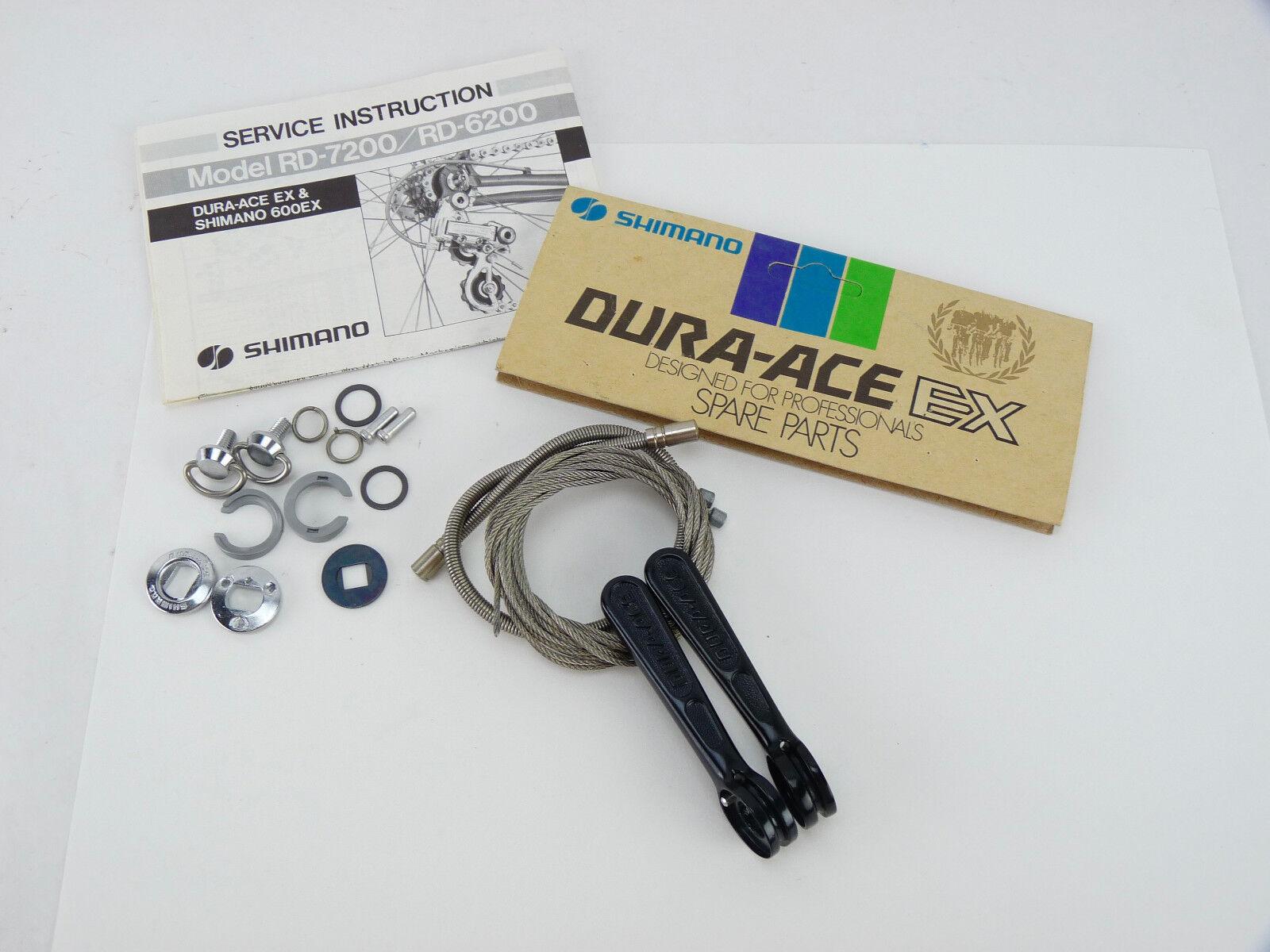 Dura ace shifters Shimano ex 7210 tubo diagonal Vintage Bike 4.5mm A-Tipo nos