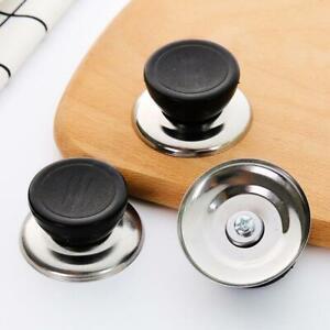 Replacement Knob Grip Handle Wok Pan Pot Glass Lid Cover Cookware+screw US STOCK