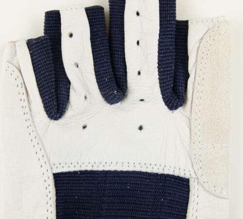 Roadiehandschuhe Leder Gr M 8 ohne Finger Arbeitshandschuhe Roadie Handschuhe
