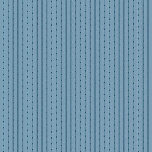 Andover Edyta Sitar Fabric-Azul Cielo Cadena Stripe-Azul-Varios Tamaños
