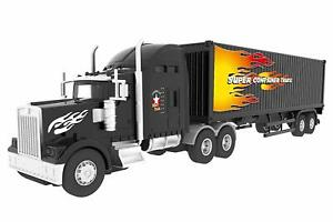 cde7e477f Details about Big Daddy Big Rig Tractor Trailer Transport Toy Trucks Big  Toy Truck Series