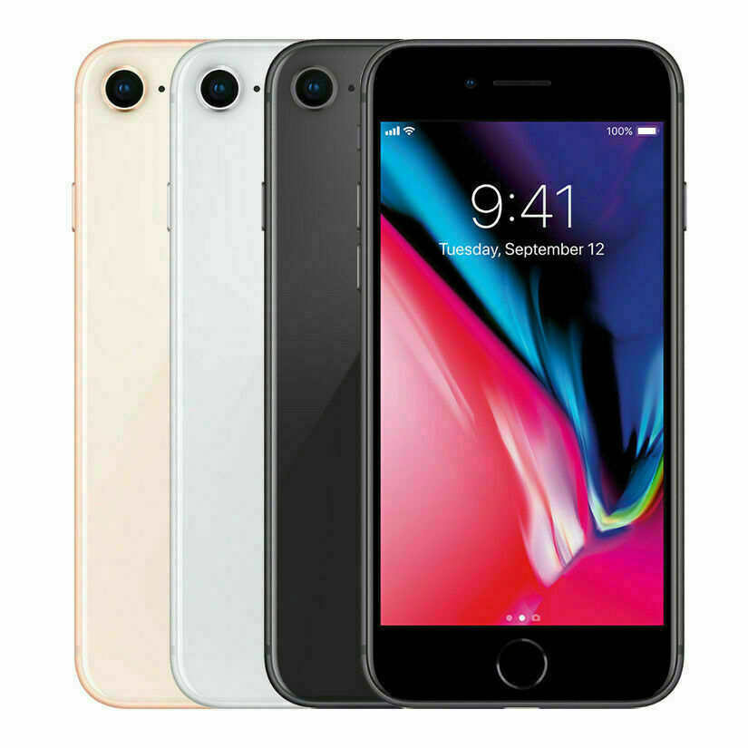 Apple iPhone 8 - 64GB GSM/CDMA Factory Unlocked A1863 All US Carriers