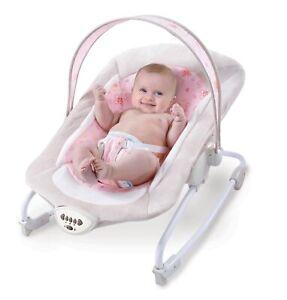 Babywiege pink Vogelgezwitsch