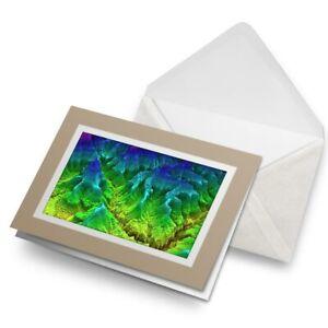 Greetings-Card-Biege-3D-Geology-Map-Mountain-Ridge-21061