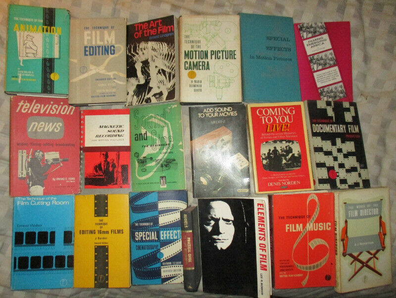 18 Old Filming Books 1962 - 1998..choose