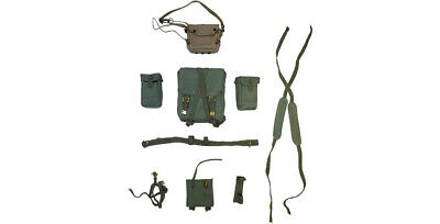1:6 Scale British WWII RAF Military Police Equipment Set A607 White
