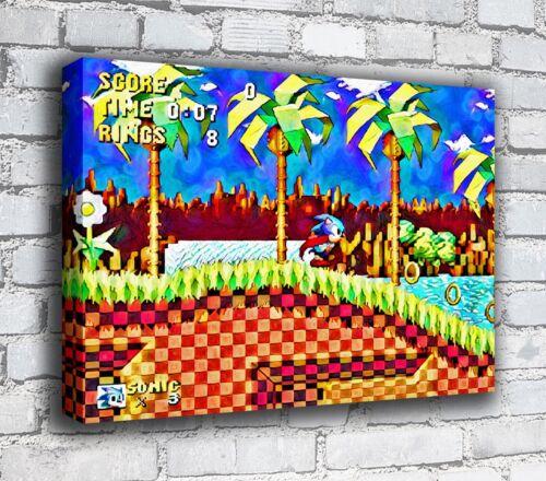 Sonic RETRO GAMING CANVAS