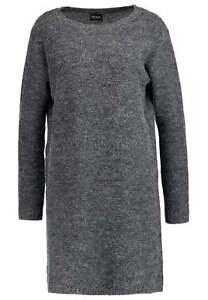 ab39d99e40b3b NEW Vila VIRIVA - Jumper Dress - Dark Grey Melange - S 5710636376640 ...