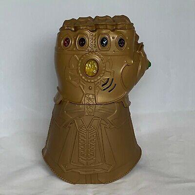 NEW Marvel Infinity War Thanos Infinity Gauntlet Electronic Fist Hasbro Avengers