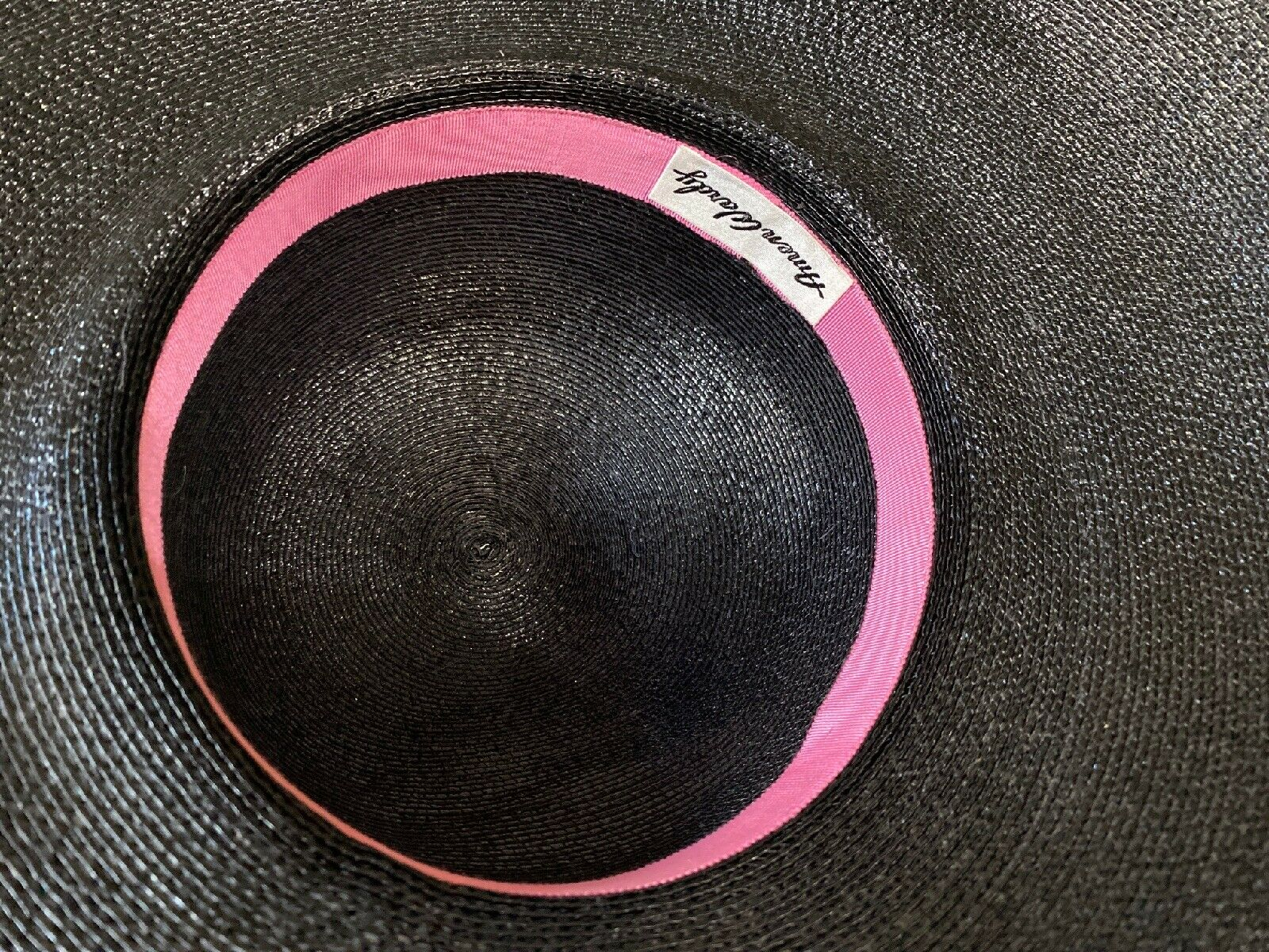 Vintage Amen Wardy Large Hat ! 1980's Large Brim … - image 7