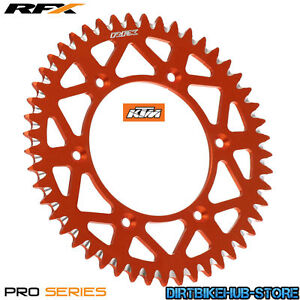 NEW-KTM-SX-125-2T-2006-RFX-Pro-Series-Elite-Aluminium-Rear-Sprocket-Orange-48T