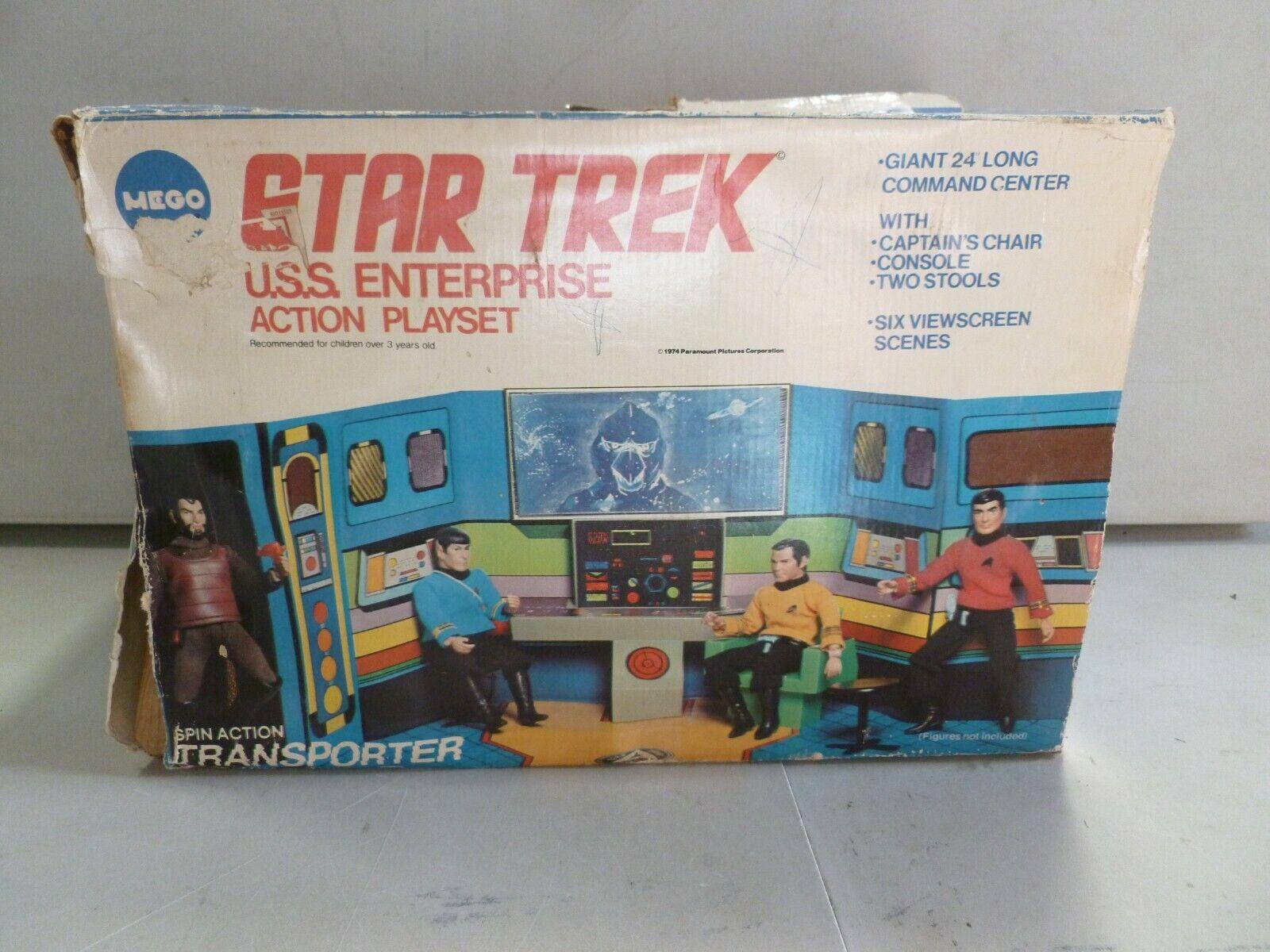 1974 Mego Star Trek USS Enterprise Acción Juego