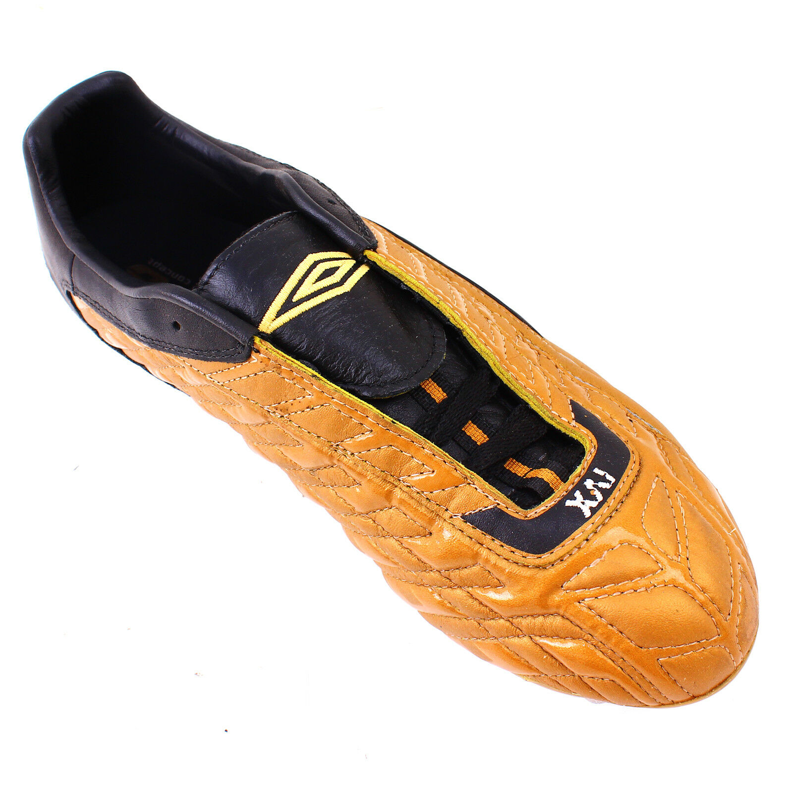 Umbro Chaussures De Football Hommes Sport XRI 2 KTK clous taille UK 11 Noir & Orange