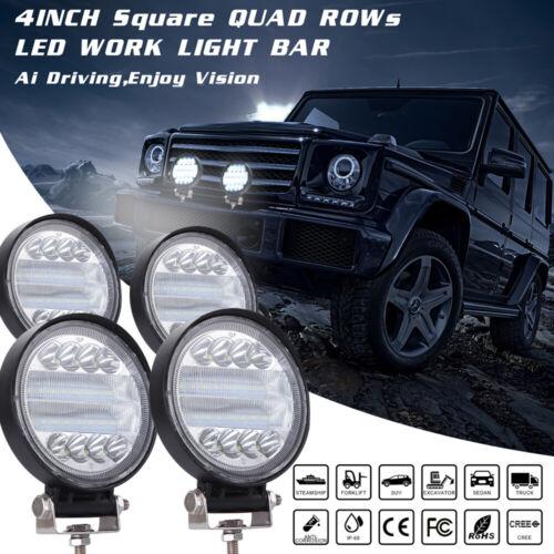 4/'/'Inch 72W CREE LED Work Spot Light Bar Car Flood Offroad Fog Lamp 4WD Jeep SUV
