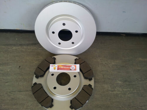 Nissan x-trail disques de frein avant /& plaquettes 2007-2013 new coated design