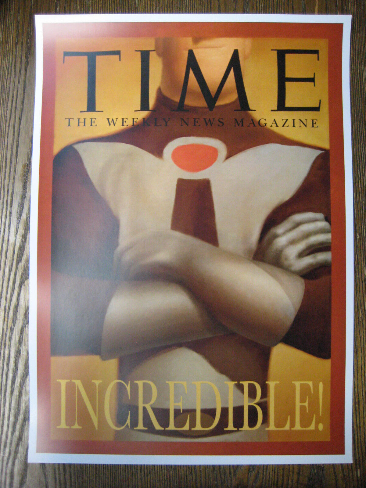 """Time Cover Collector/'s Poster Print The Incredibles B2G1F 11/"""" x 17/"""""""