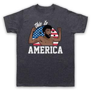 Childish Gambino Donald C'est L'amérique Glover Vidéo Adultes & Enfants T-shirt-afficher Le Titre D'origine