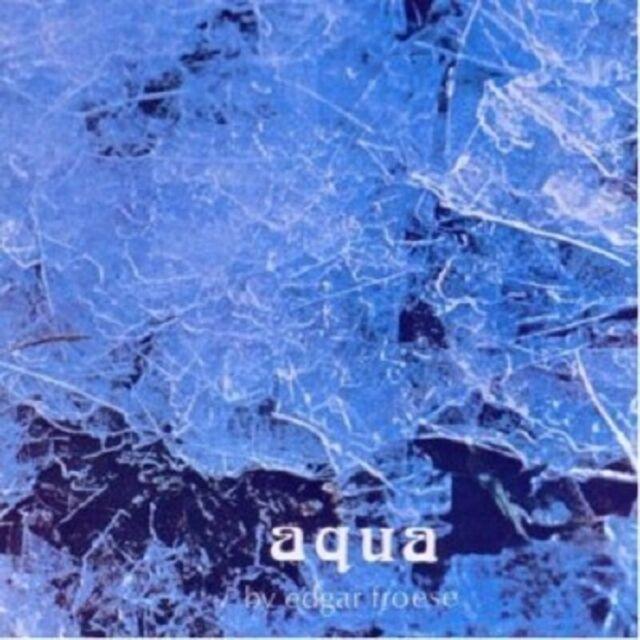 EDGAR FROESE - AQUA  CD 4 TRACKS INTERNATIONAL POP  NEU