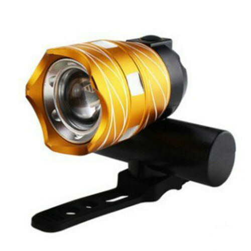 LED 15000LM Flashlight   Rechargable  Front Lamp Light  USB  Bicycle Bike