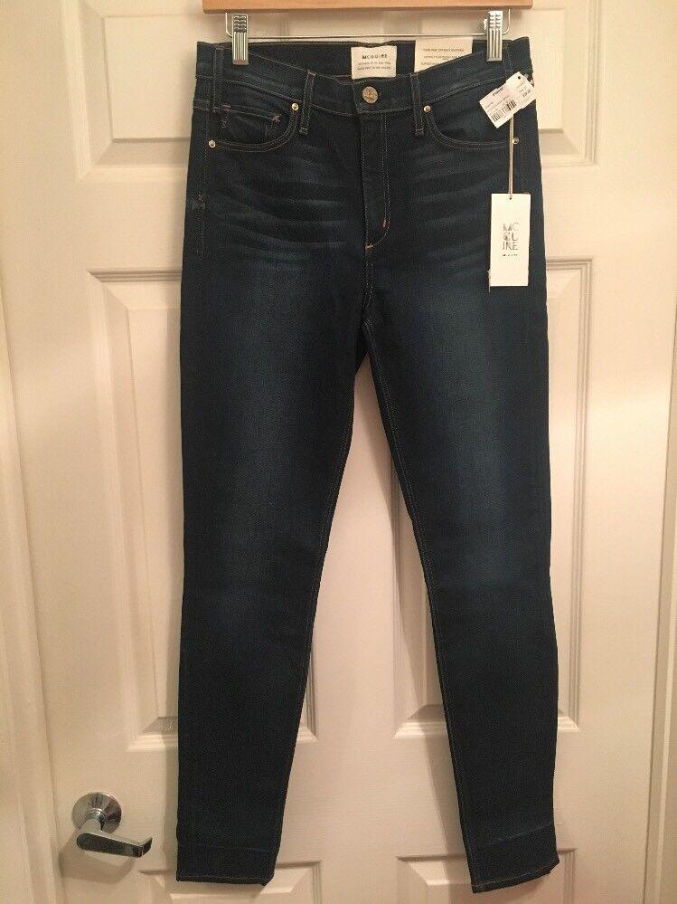 McGuire Newton 715 High Waist Skinny Jeans NWT Sz 28 Londoner ( 228 Retail)
