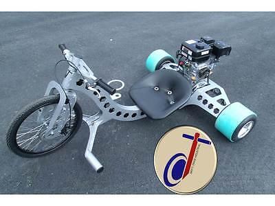 Drift Trike Industrial (Build Plans Only) Motorized Powered Drift Trike |  eBay