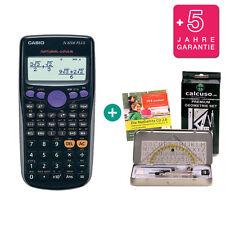 Casio FX 82 DE Plus Taschenrechner + Premium Geometrie-Set Lern-CD Garantie